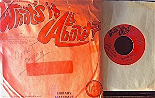 What's It All About 45 vinyl interview [Melanie, Harry Chapin]