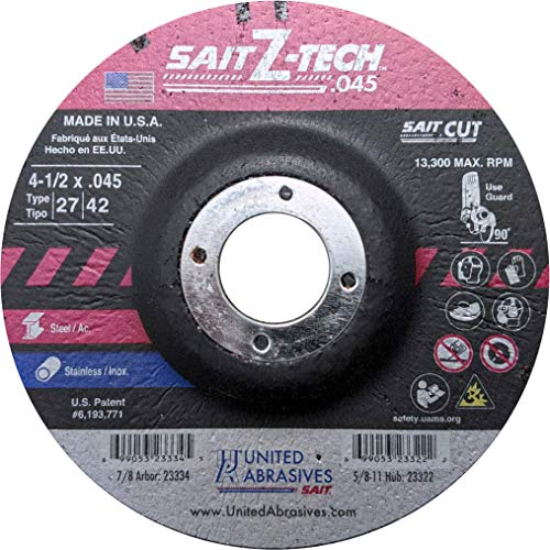 20-Pack United Abrasives//SAIT United Abrasives-SAIT 85107 16-Inch by 2-Inch 16X Floor Sanding Disc