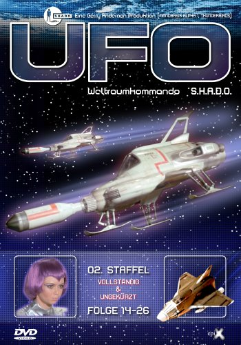 UFO - 2. Staffel, Folge 14-26 [Limited Edition] [4 DVDs]