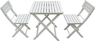Amazon.fr : table balcon - Blanc / Salons de jardin / Mobilier de ...