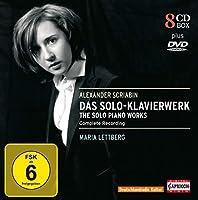 Maria Lettberg - Scriabin Das Solo-Klavierwerk The Solo Piano Works (8CD+DVD)