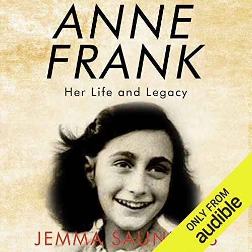 Anne Frank audiobook cover art