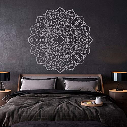 Diseño creativo Calcomanías de pared bohemias Decoración del hogar Sala de estar Dormitorio Yoga Estudio Decoración Pegatinas Mural extraíble A1 57x57cm
