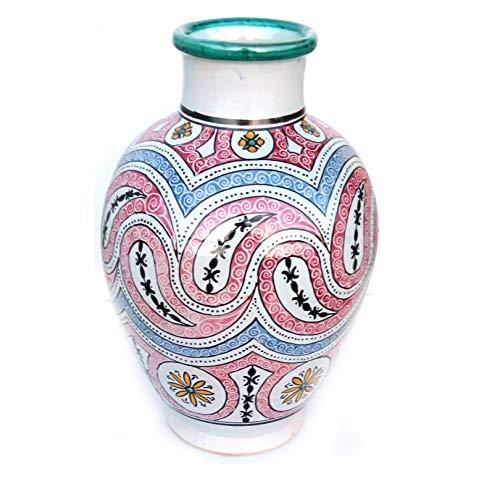 Marokkanische Vase Vintage bunt | Orientalische Vasen und Dekogegenstände| Orientalische Dekoration | Dekoartikel aus dem Orient