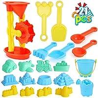 22-Pieces Beach Sand Toys Set for Kids