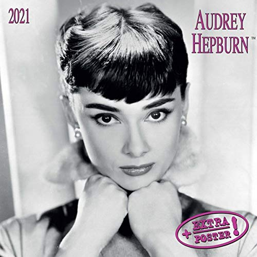 Audrey Hepburn distribution only in DE 2021: Kalender 2021 (Artwork Extra)
