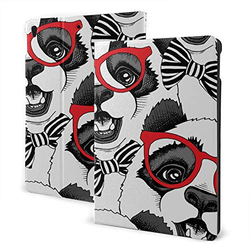 JIUCHUAN Protective Ipad Case 2019 Ipad Air3/2017 Ipad Pro 10.5 Inch Case/2019 Ipad 7th 10.2 Inch Case Seamless With Image Of A Panda Child In A Ipad Tablet Cover Auto Wake/sleep