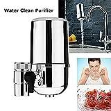 Hangang Leitungswasser Luftreiniger Filter, Wasserhahn Wasser-Filter, Wasser Purifying Gerät für Kome Küche, Wasserhahn Halterung Filter mit Advanced Wasser Filtration
