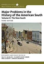 Major Problems in the History of the American South, Volume 2 (Major Problems in American History Series) by Sally G. McMillen (2011-08-11)