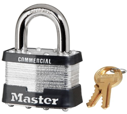 """Master Lock 5KA A451 Number-5 Laminated Padlock, 2"""""""