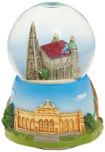 Spieluhrenwelt 17508 Wiener Dom in Einer Schneekugel