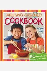 Around The World Cookbook Hardcover-spiral