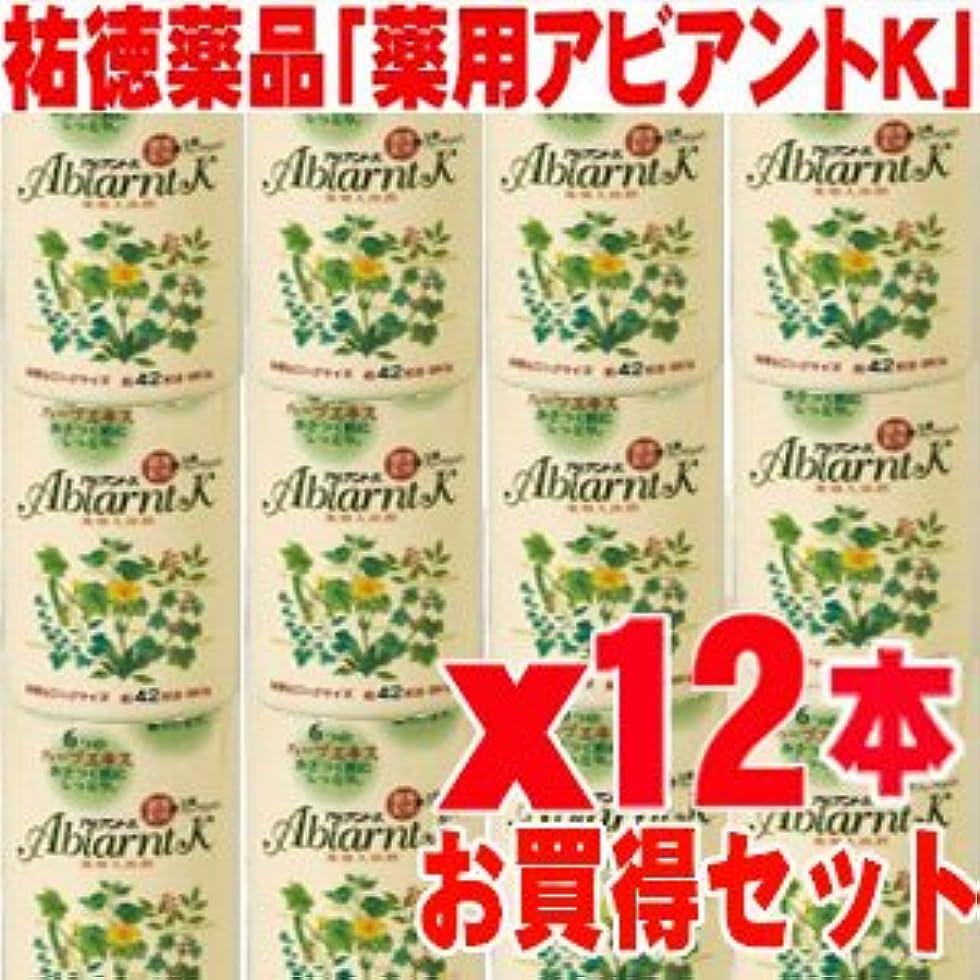 作詞家欲望鳴らすアビアントK 薬用入浴剤 850gx12本 (総合計10.2kg)4987235024123