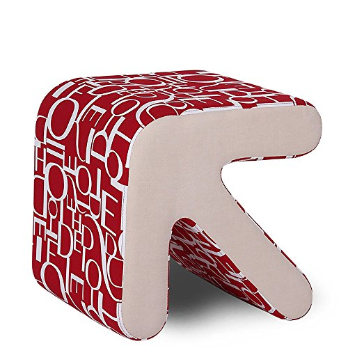 ZXQZ Tabouret de flèche en Bois Massif/Chaussures à Langer changeantes Tabouret de Tabouret/Tabouret à Tabouret/Tabouret de Salon Repose-Pieds de Stockage (Couleur : A)