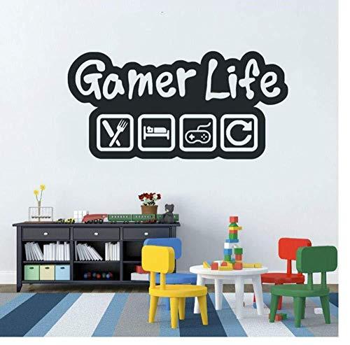 Wall Sticker adesivi murali 27X56Cm Regolatore del video gioco camera dei bambini del vinile della decorazione di arte murale