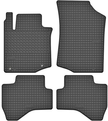 Motohobby Gummimatten Gummi Fußmatten Satz für Toyota Aygo I/Citroen C1 I/Peugeot 107 (2005-2014) - Passgenau