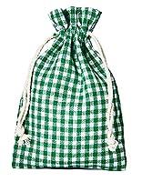 10 petits sacs en coton, de style campagnard pour emballer vos cadeaux, la fête de la bière, l´Avent, Noël et Pâques Ce petit sac à carreaux est imbattable dans sa diversité. Pratique, décoratif et réutilisable. Parfait comme sac à pain, sac de pique...