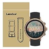 LvBu Armband Kompatibel Für Fossil Q Venture, Sport Silikon Classic Ersatz Uhrenarmband Für Fossil Q Venture Gen 4 / Fossil Q Venture Gen 3 Smartwatch (Schwarz)
