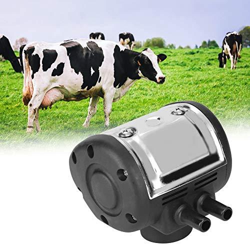 Nannday 【𝐎𝐬𝐭𝐞𝐫𝐟ö𝐫𝐝𝐞𝐫𝐮𝐧𝐠𝐬𝐦𝐨𝐧𝐚𝐭】 Pneumatischer Pulsator, Einstellbarer Pneumatischer Pulsator-Melker für Kuhschaf-Melkmaschine mit Zwei Ausgängen