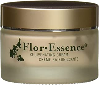 Flor Essence Face Moisturizer & Anti Aging Cream 1.7 oz - Herbal Blend for Rejuvenating Dry Skin - Paraben Free