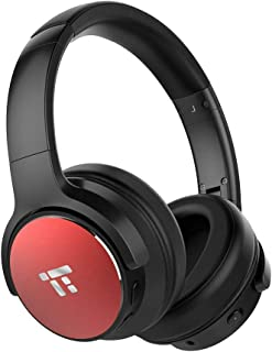 Active Noise Cancelling Bluetooth Headphones, TaoTronics HiFi Stereo Wireless Over Ear Deep Bass Headset w/CVC Noise Canceling Microphone 30 Hour Playtime Comfortable Earpads for Travel Work TV