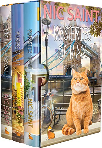 The Mysteries of Max: Books 13-15 (The Mysteries of Max Box Sets Book 5)