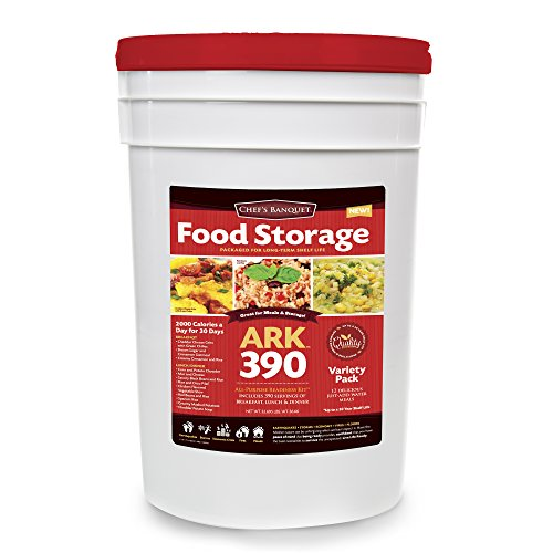Chef's Banquet 390 Servings Emergency Food Storage Kit