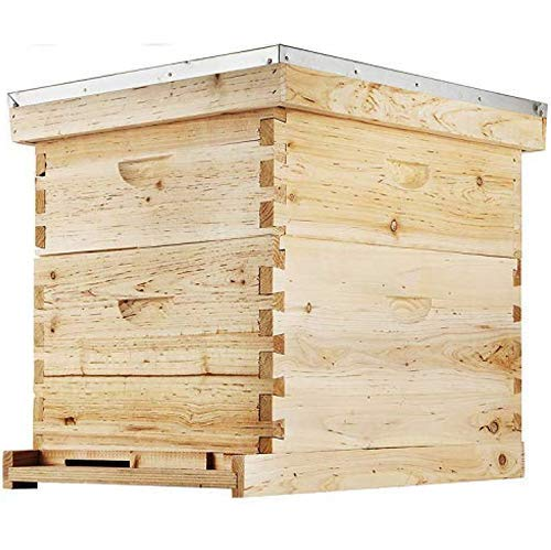 Happybuy Bee Hive 20 Frame Beehive Box