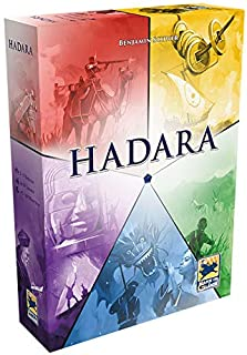 Asmodee Hans im Glück HIGD1003 Hadara, Aufbau-Spiel, Deutsc