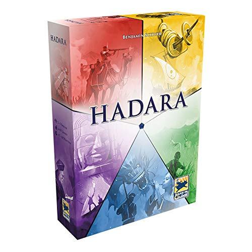 Asmodee Hans im Glück HIGD1003 Hadara, Aufbau-Spiel, Deutsch