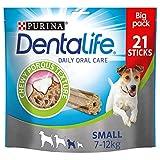 Purina DentaLife Mini–Maxi Pack–Higiene Bucodental AU QUOTIDIEN–345g–21Varillas de mascar para Perros de tamaño pequeño–Juego de 4