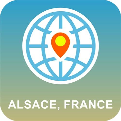 Alsacia, Francia Mapa