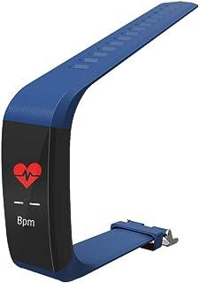 DDDD store Pulsera Actividad, Pulsera Inteligente Pantalla Color HR con Pulsómetro Pulsera Deportiva y Monitor de Sueño de Actividad para Mujer Hombre Reloj Fitness Podómetro
