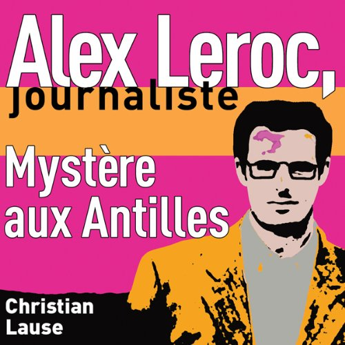 Mystère aux Antilles [Mystery in the Antilles] audiobook cover art