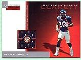 Maurice Clarett 2005 Topps Pristine Rookie Worn Jersey Rookie #PPU-MCL - 059/200 - Denver Broncos