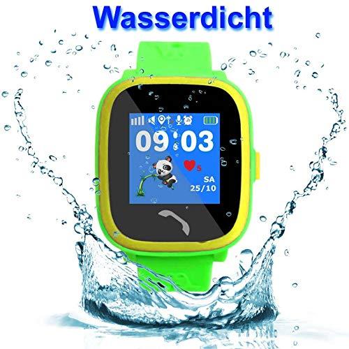 VIDIMENSIO GPS Telefon Uhr Kleiner Delfin - blau (Wifi) WASSERDICHT, OHNE Abhörfunktion, für Kinder, SOS  Abbildung 3