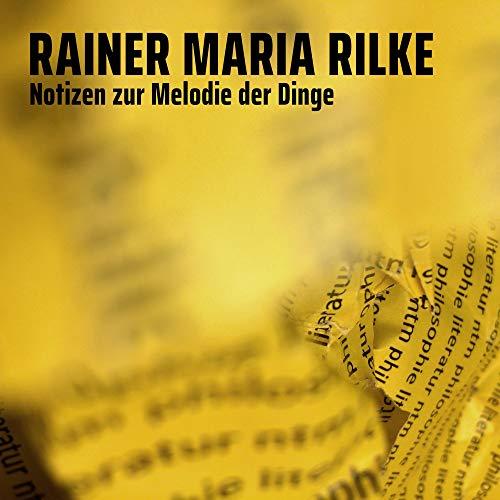 『Notizen zur Melodie der Dinge』のカバーアート