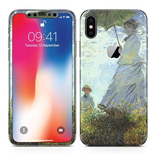 iPhonex アイフォン x 全面スキンシール フル 背面 側面 正面 液晶 ステッカー スマホカバー ケース 保護シ...