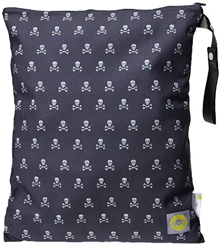 Itzy Ritzy Travel Happens toilettas, groot, motief Rebel Skulls