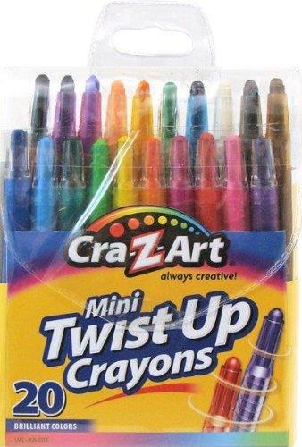 Cra-Z-Art Mini Twist Up Crayons, 20 Count (10253)
