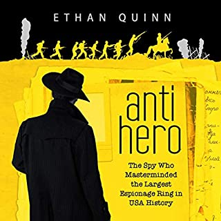 Anti-Hero audiobook cover art