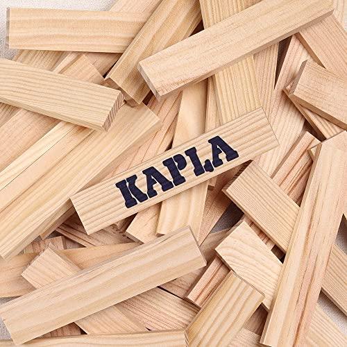 Kapla 100er Box Original Holz Bausteine Plättchen Klötze - 9