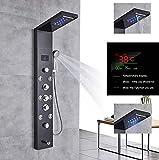Panneau de douche de haute qualité en acier inoxydable avec affichage de la...