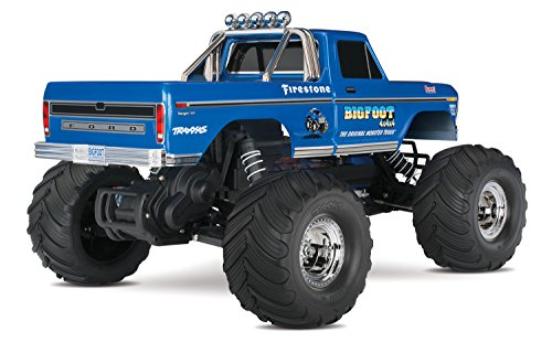RC Auto kaufen Monstertruck Bild 5: Traxxas Bigfoot No.1 Brushed 1:10 RC Modellauto Elektro Monstertruck Heckantrieb RtR 2,4 GHz*