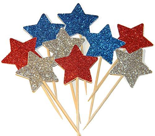 Glitter Star 4th of July