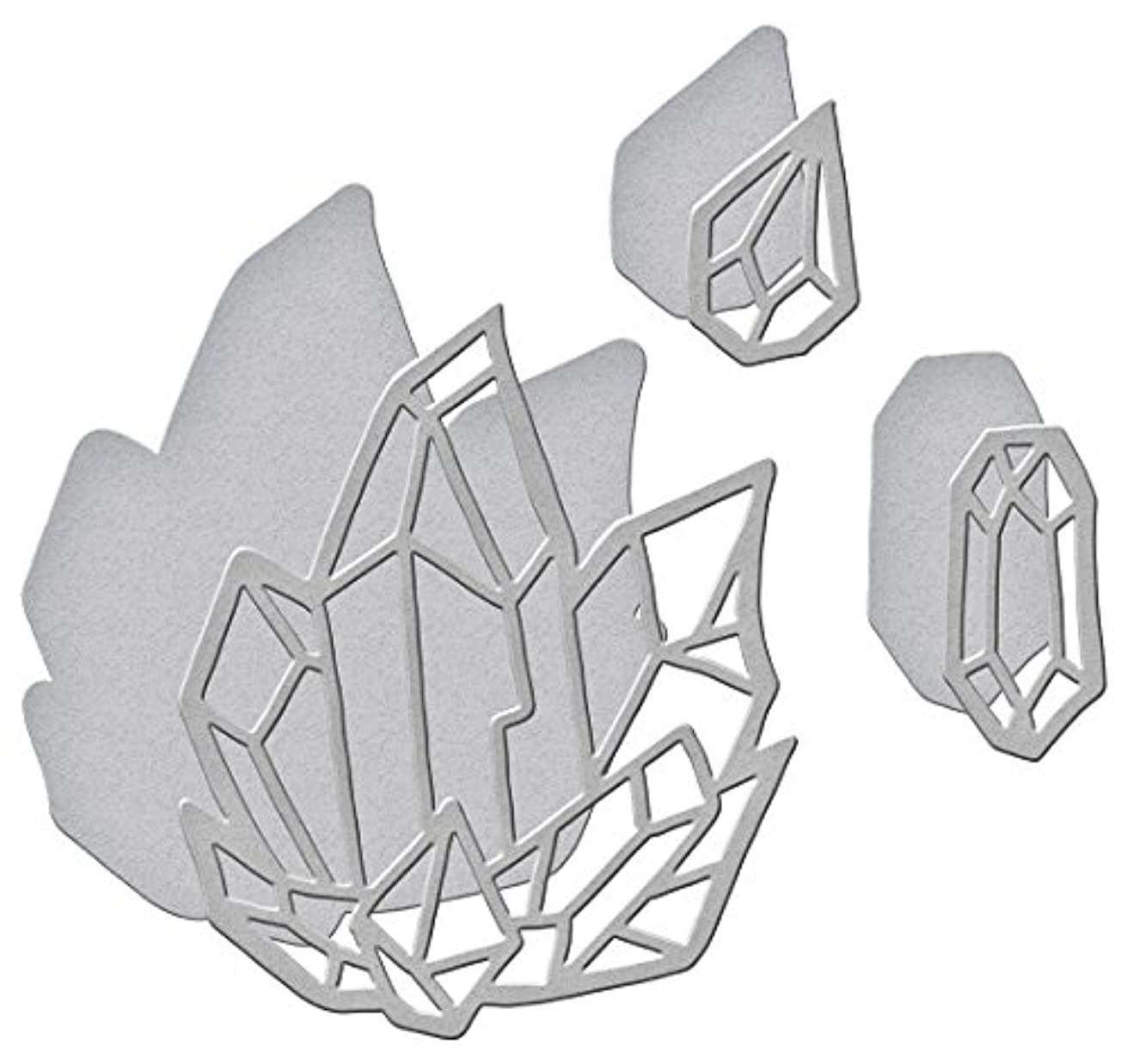 Spellbinders Shapeabilities Crystal Peaks by Stephanie Low Etched/Wafer Thin Dies