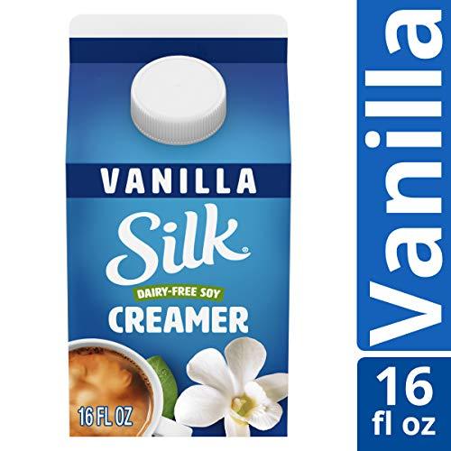 Silk Soy Creamer, Vanilla, Pint, 16 oz Dairy-Free, Vegan