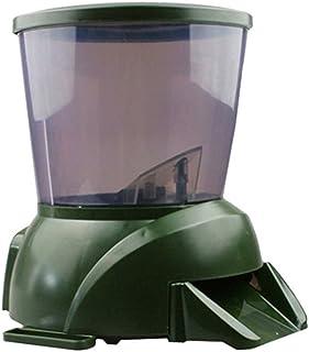 Cacoffay Alimentador De Peces De Estanque Automático Alimentador De Peces De Acuario De Pilas Programable Auto