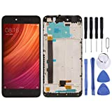 De Galen Accessory Kits Replacement LCD for Xiaomi LCD Screen and Digitizer Full Assembly with Frame for Xiaomi Redmi Note 5A Prime/Remdi Y1 Replacement (Color : Black)