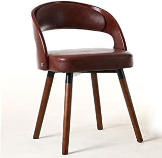 YUMUO - Sillas de Comedor Asiento y Respaldo Acolchados de Terciopelo Suave con Patas de Madera robustas de Madera Sillas de Cocina para sillas de Comedor y Sala de Estar (Color: Verde, tamaño: A)